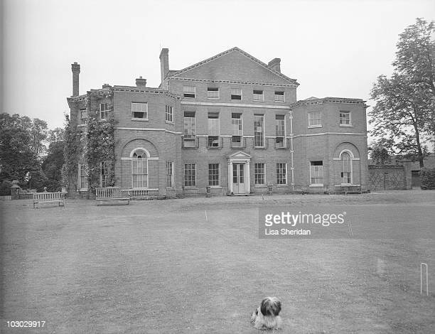 A general view of the Royal Lodge in Windsor Castle England on April 11 1942