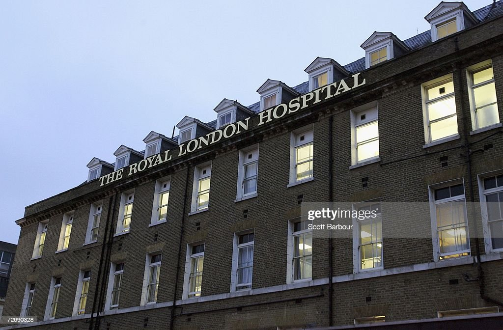 A general view of the Royal London Hospital, the location where the post-mortem examination of former KGB agent Alexander Litvinenko is taking place on Decemeber 1, 2006 in London, England. Detectives are continuing to examine various locations in London where traces of polonium-210 were found after Former Russian spy, Alexander Litvinenko's death. Litvinenko's death has been linked to the presence of a 'major dose' of radioactive polonium 210 in his body.