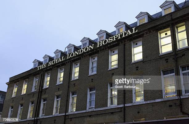 A general view of the Royal London Hospital the location where the postmortem examination of former KGB agent Alexander Litvinenko is taking place on...