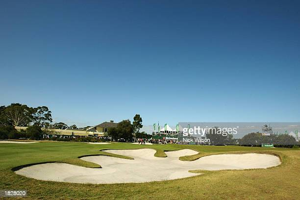 General View of the Royal Melbourne Golf Club during the third round of the Heineken Classic held on February 1 2003 at the Royal Melbourne Golf Club...