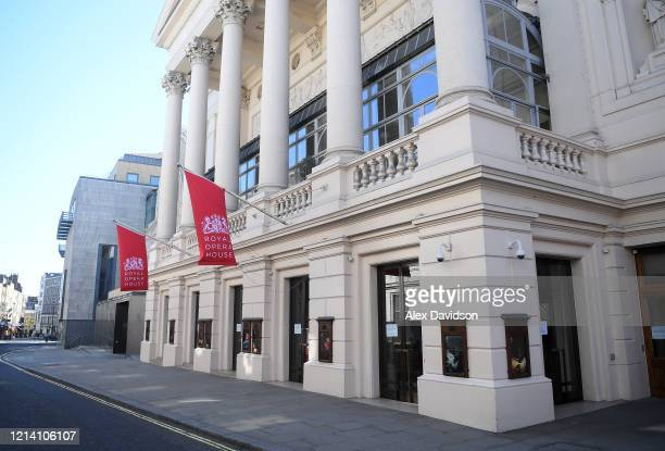General view of the Royal Opera House on March 22, 2020 in London, England. Coronavirus has spread to at least 188 countries, claiming over 13,000...