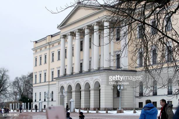 General view of the Royal Palace ahead of Prince William Duke of Cambridge and Catherine Duchess of Cambridge's visit to the Princess Ingrid...