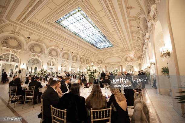 General view of the Royal wedding of Prince Nicholas of Romania and Princess Alina of Romania at Casino of Sinaia on September 30 2018 in Sinaia...