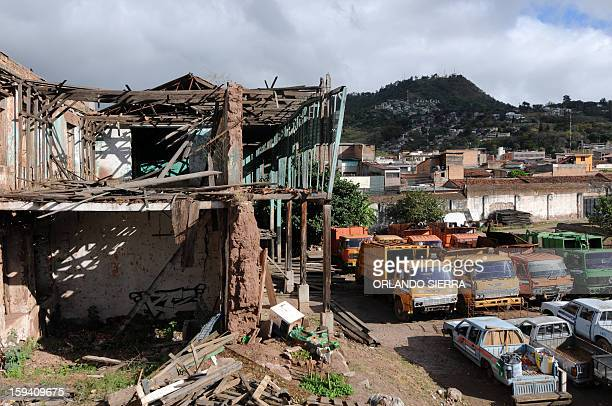 A general view of the rundown Central Penitentiary in the historic center of Tegucigalpa on January 13 2013 The prison which was built in 1880 and...