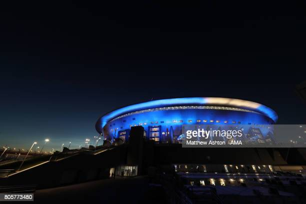 General View of the Saint Petersburg Stadium home stadium of Zenit Saint Petersburg and host venue for the FIFA Confederations Cup Russia 2017 and...