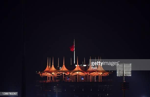 General view of the Sakhir Tower during the F1 Grand Prix of Sakhir at Bahrain International Circuit on December 06, 2020 in Bahrain, Bahrain.