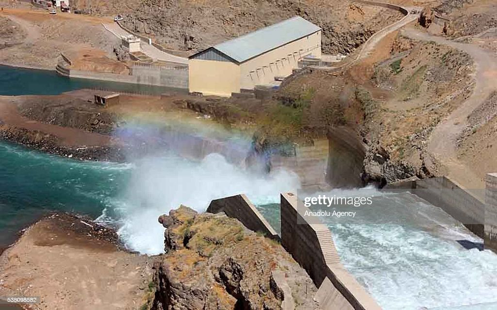 Opening of the Salma Dam in Afhganistan's Herat : News Photo
