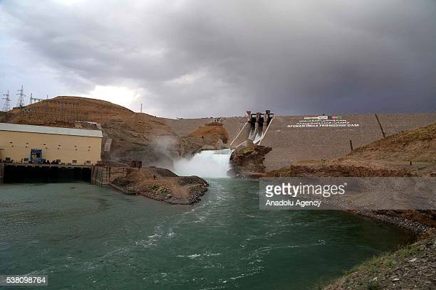 A general view of the Salma Dam which was opened by the President of Afghanistan Ashraf Ghani and Indian Prime Minister Narendra Modi in Herat...