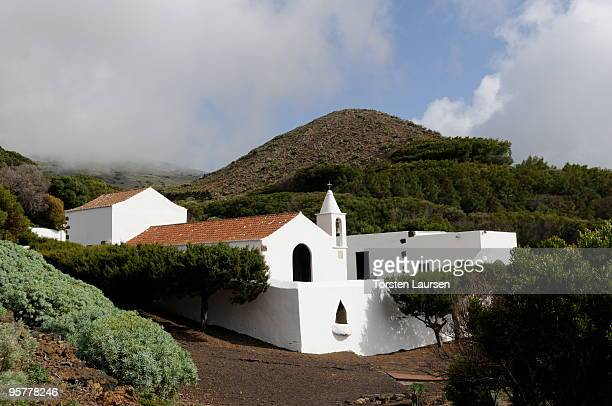 A general view of the Santuario de Nuestra Senora de los Reyes monastery on El Hierro Island January 13 2010 in El Hierro Island Spain The island...