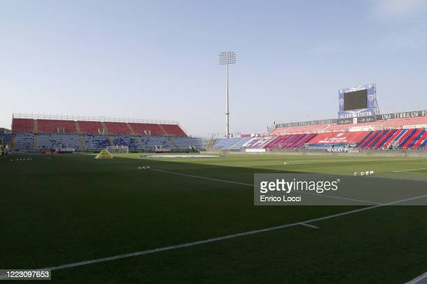A general view of the Sardegna Arena prior to the Serie A match between Cagliari Calcio and Torino FC at Sardegna Arena on June 27 2020 in Cagliari...