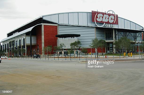General view of the SBC Center, the new home of the San Antonio Spurs on October 19, 2002 in San Antonio, Texas. NOTE TO USER: User expressly...