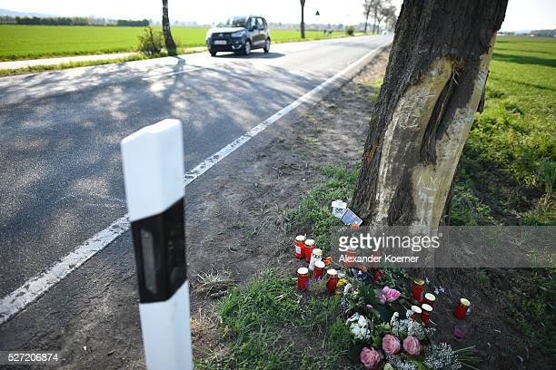 A general view of the scene where Niklas Feierabend a youth player of the Bundesliga soccer club Hannover 96 has died is seen on May 2 2016 in...