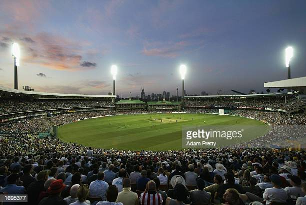 General view of the SCG during the One Day International match between Australia and England held at the Sydney Cricket Ground in Sydney, Australia...