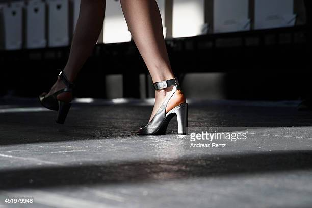 A general view of the Schumacher show during the MercedesBenz Fashion Week Spring/Summer 2015 at Sankt Elisabeth Kirche on July 10 2014 in Berlin...