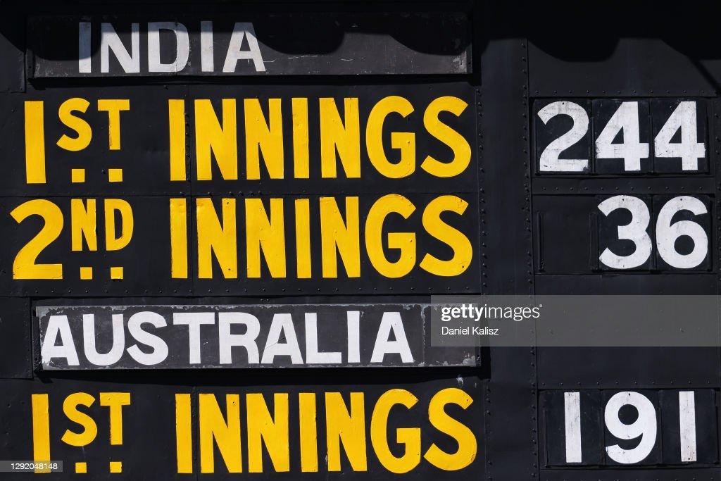 Australia v India: 1st Test - Day 3 : News Photo