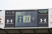 london england general view scoreboard at