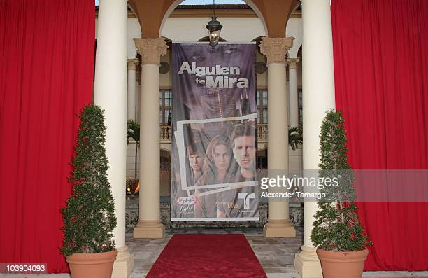 General view of the screening of Telemundo's Alguien Te Mira at The Biltmore Hotel on September 7 2010 in Coral Gables Florida