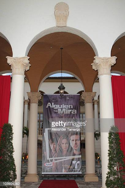 General view of the screening of Telemundo's 'Alguien Te Mira' at The Biltmore Hotel on September 7 2010 in Coral Gables Florida