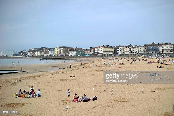 A general view of the seafront on August 2 2011 in Margate England The east Kent seaside town of Margate is currently undergoing regeneration work to...