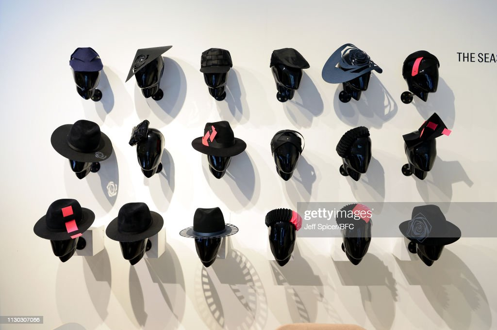 GBR: NEWGEN Pop-Up Showroom: The Season Hats - LFW February 2019