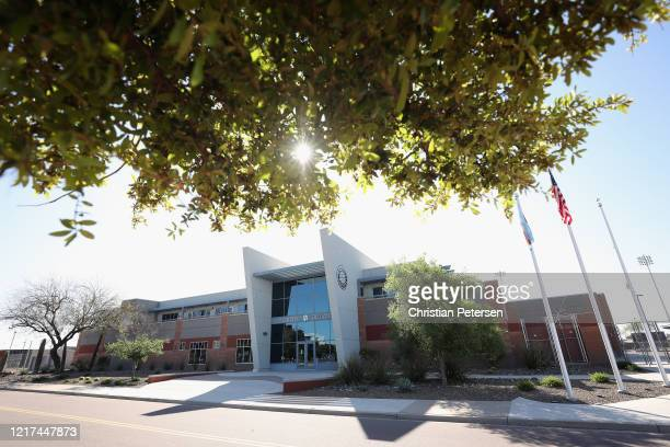 General view of the Seattle Mariners offices at Peoria Sports Complex on April 07, 2020 in Peoria, Arizona. According to reports, Major League...
