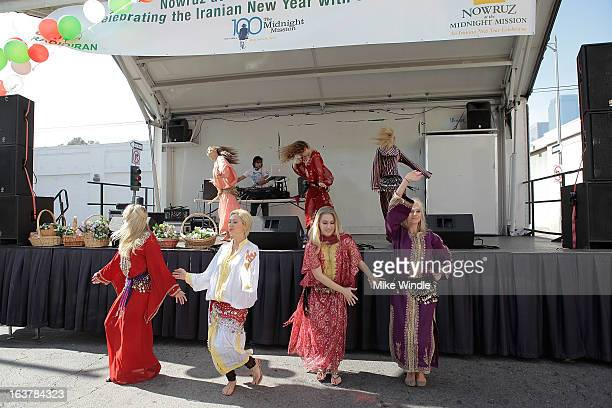 A general view of the second annual Nowruz at The Midnight Mission event on March 15 2013 in Los Angeles California
