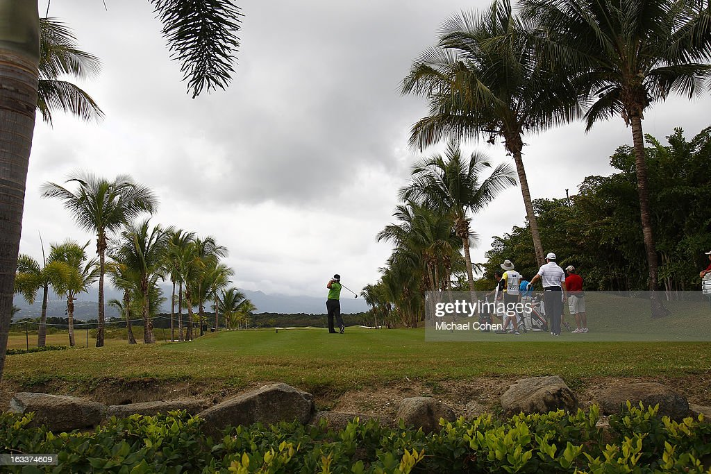 A general view of the second hole during the second round of the Puerto Rico Open presented by seepuertorico.com held at Trump International Golf Club on March 8, 2013 in Rio Grande, Puerto Rico.