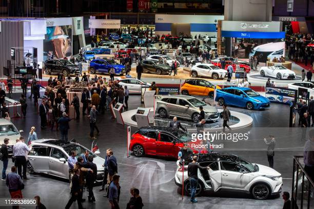General view of the second press day at the 89th Geneva International Motor Show on March 6 2019 in Geneva Switzerland