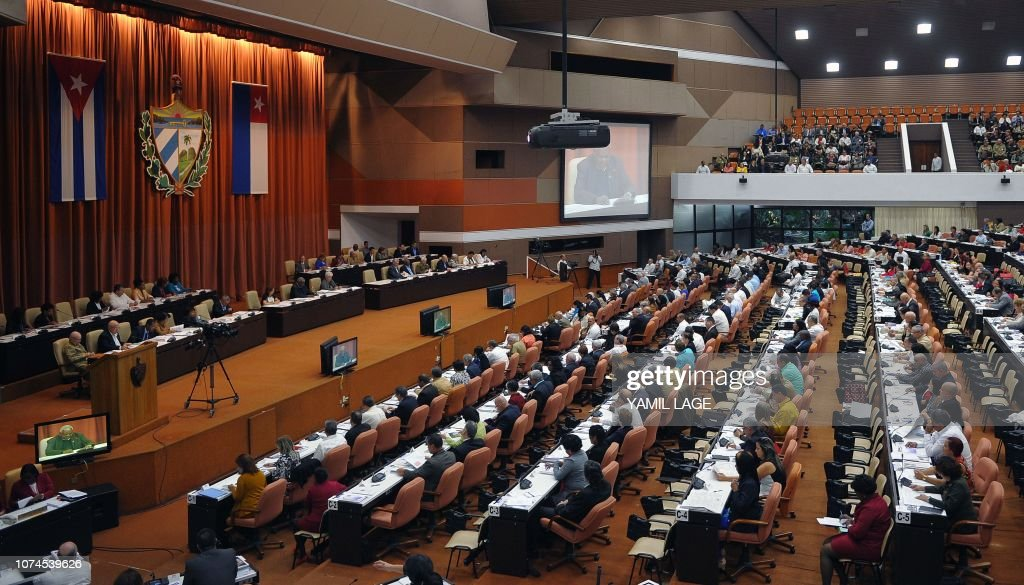 CUBA-CONSTITUTION-REFORM-PARLIAMENT : News Photo