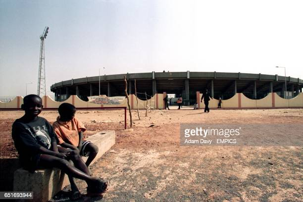 A general view of the Segou Stadium