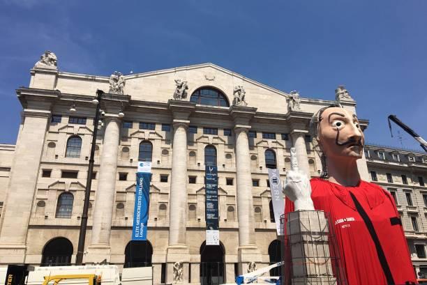 "ITA: ""Piazza De Papel"" - ""La Casa Di Carta"" (Money Heist) Event In Milan"