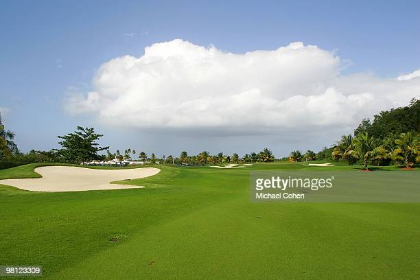 A general view of the seventh fairway at Trump International Golf Club on March 12 2010 in Rio Grande Puerto Rico
