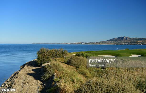 A general view of the seventh hole prior to the start of The Rocco Forte Open at Verdura Golf and Spa Resort on May 16 2017 in Sciacca Italy