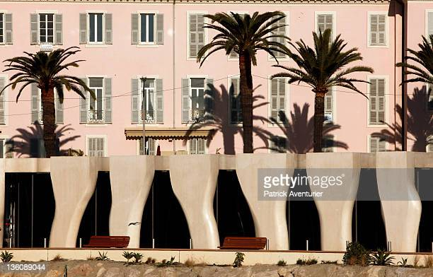 A general view of the Severin Wundermann Museum where artworks created by French poet artist and film maker Jean Cocteau are being displayed in the...