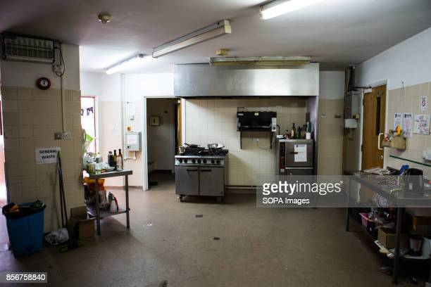 General view of the shared kitchen inside the Guardian Housing Residence. This is known as Guardian housing residence, where the resident are called...