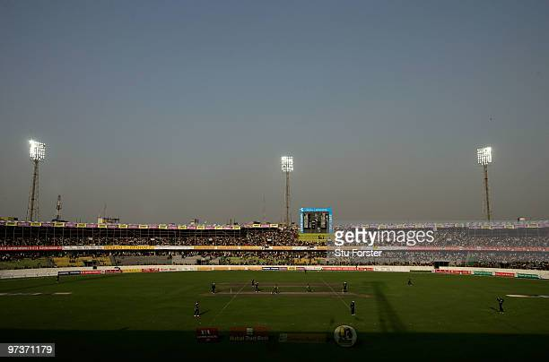 General view of the Shere-e-Bangla National Stadium during the 2nd ODI between Bangladesh and England at Shere-e-Bangla National Stadium on March 2,...