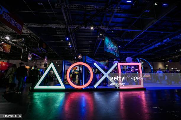 General view of the show floor as members of the public preview the latest games and upcoming releases during EGX 2019, the UK's premier video games...