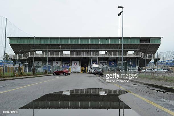 General view of the Silvio Piola Stadium ahead of the Serie B match between Novara Calcio and Ternana Calcio at Silvio Piola Stadium on September 29,...