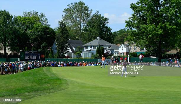 General view of the sixth hole during The Open Qualifying Series, part of the Rocket Mortgage Classic at Detroit Golf Club on June 30, 2019 in...