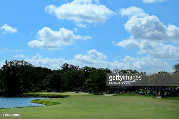 A general view of the sixth hole is seen during the third round of the Arnold Palmer Invitational Presented by Mastercard at the Bay Hill Club on...