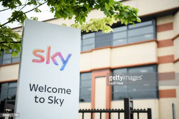 A general view of the SKY headquarters in Isleworth on May 9 2017 in London England The independent communications regulator Ofcom is currently...