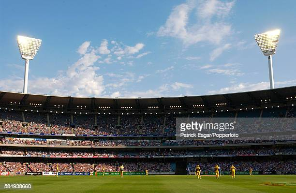 General view of the Southern Stand at the MCG during the 2nd VB Series One Day International between Australia and England at Melbourne Australia...