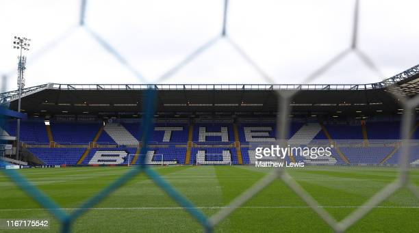 General view of the St Andrew's Trillion Trophy Stadium during the Sky Bet Championship match between Birmingham City and Bristol City at St Andrew's...