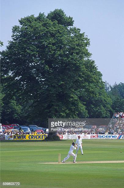 General view of the St Lawrence Cricket Ground at Canterbury including the lime tree circa July 1997