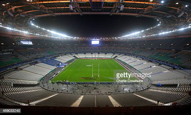 A general view of The Stade De France ahead of the International match between France and Australia at The Stade De France on November 15 2014 in...