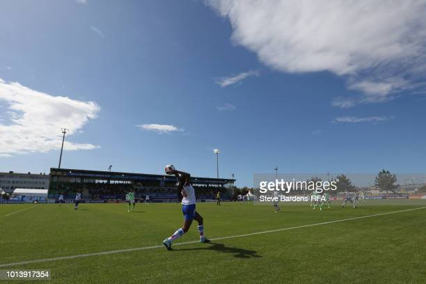 General View of the Stade de Marville during the FIFA U20 Women's World Cup France 2018 group D match between Haiti and Nigeria at Stade de Marville...