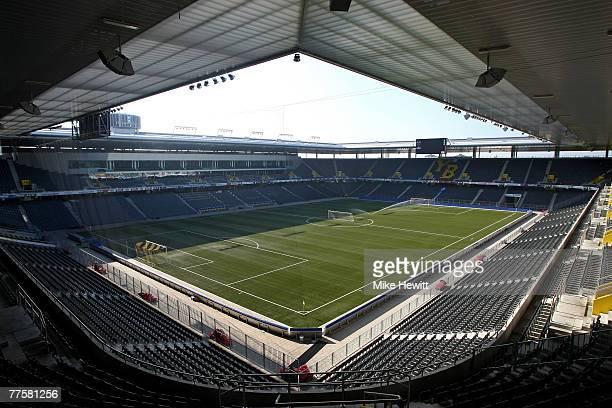 General view of the Stade de Suisse stadium in Bern, Switzerland on October 17, 2007 in Bern, Switzerland.
