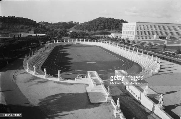 General view of the Stadio dei Marmi, venue of the 1960 Summer Olympics located within the Foro Italico sports complex, Rome, Italy, 31st January...