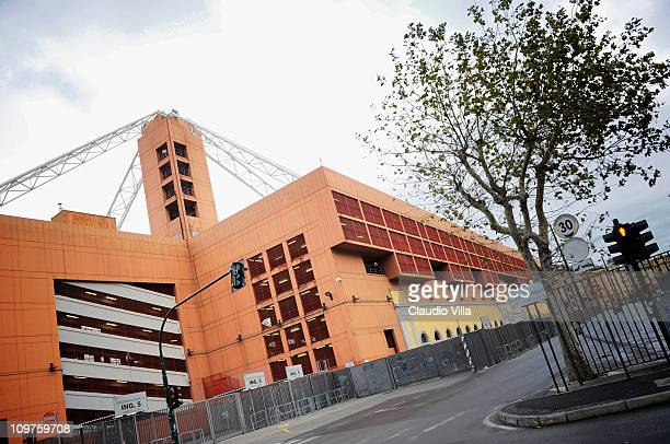 A general view of the Stadio Luigi Ferraris taken on October 31 2010 in Genoa Italy