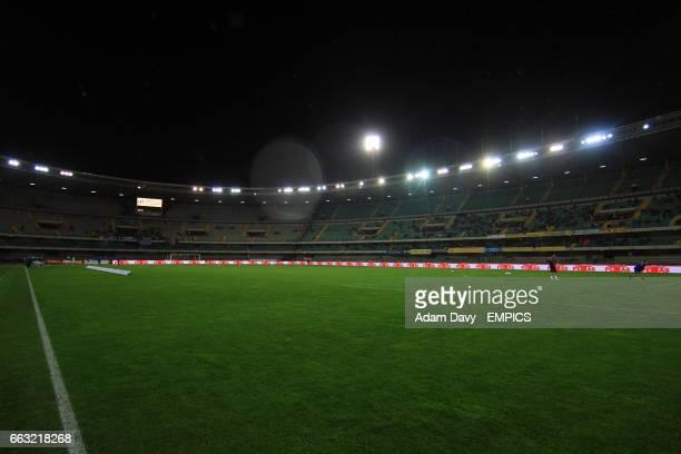 General view of the Stadio Marc'Antonio Bentegodi, home to Chievo Verona.